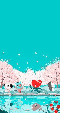 New Lock Screen Wallpaper Bts Jin Ideas Wallpaper Iphone Cute, Lock Screen Wallpaper, Cute Wallpapers, Iphone Wallpaper, Tumblr Kpop, Bts Backgrounds, Bts Chibi, Line Friends, Billboard Music Awards