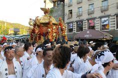 西御座のお神輿。 祇園祭 京都 kyoto gion festival
