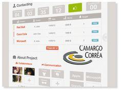 Plataforma B2B integrada com o SAP com o objetivo de captar todo o volume de solicitações de compras da empresa com facilidade, rapidez e agilidade // Cliente: Camargo Correa