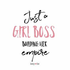 Just a girl boss building her empire. Each sign is made using a special heat transfer process in which the image is literally burned into the metal. The finished result is a satin smooth finish that is not only beautiful but is also durable. The print i Woman Quotes, Boss Lady Quotes, Life Quotes Love, Quotes To Live By, Cute Girl Quotes, Hustle Quotes Women, Women Boss Quotes, You Rock Quotes, Lets Do This Quotes