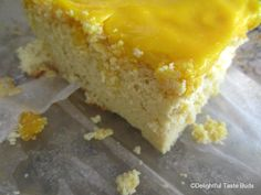 Ultra Low Carb Treat Recipe: Fluffy and Moist Lemon Cake