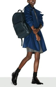 Toughen up a simple sheath with utilitarian touches  A sleek backpack and  combat-ready 4734ca98ef41d