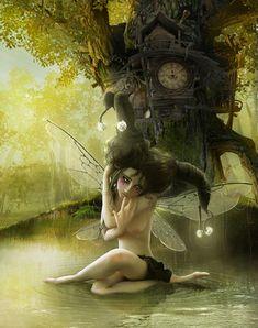 Fairy's lost tale by `LuneBleu on deviantART