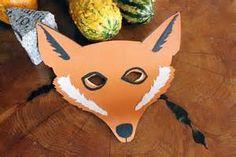 Fox mask - for Roald Dahl challenge
