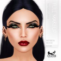 https://flic.kr/p/wFffSD | Oceane - Mistress Mood Full Makeup Bound | Second Life Marketplace: marketplace.secondlife.com/stores/7401  www.oceanebodydesign.com/   Inworld Store: maps.secondlife.com/secondlife/Oceanside%20dAlliez/194/21...