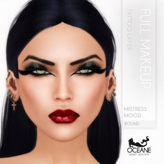 https://flic.kr/p/wFffSD   Oceane - Mistress Mood Full Makeup Bound   Second Life Marketplace: marketplace.secondlife.com/stores/7401  www.oceanebodydesign.com/   Inworld Store: maps.secondlife.com/secondlife/Oceanside%20dAlliez/194/21...