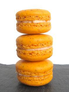 Creamsicle Macarons