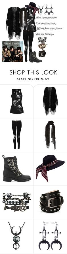 """""""If I Met Palaye Royale"""" by serenity-sempiternal2006 ❤ liked on Polyvore featuring WithChic, True Decadence, Boohoo, ALDO and Barbara Bui"""