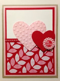 Stampin' in the Sun!: Have you started making your Valentines?