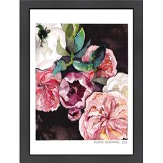 House of Hampton Blooms IV Framed Painting Print