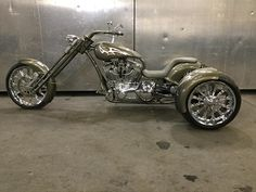 Learn more about this used pewter 2006 Special Construction Custom Trike motorcycle for sale on ChopperExchange. It has miles and it's located in Salt Lake City, Utah. Trike Chopper, Chopper Kits, Triumph Chopper, Sportster Chopper, Chopper Motorcycle, Motorcycle Style, Motorcycle Quotes, Custom Trikes For Sale, Custom Choppers