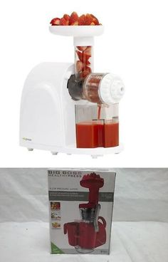 cold press heavy duty slow masticating juicer with reverse function
