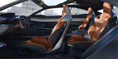 A ground-breaking Cabin of a Peugeot concept car #conceptcar #supercar #Peugeot