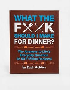 Swearing angry cookbook