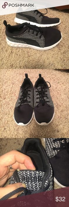 Puma shoes Gently used puma shoes! Size 7.5 in women's! Super comfortable mesh sneakers. Puma Shoes Athletic Shoes