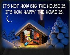 New house cartoon charlie brown Ideas Charlie Brown Quotes, Charlie Brown Y Snoopy, Snoopy Love, Snoopy And Woodstock, Peanuts Quotes, Snoopy Quotes, Snoopy Christmas, Charlie Brown Christmas, Funny Christmas