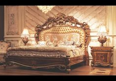 Empire Hand Carved Bed. Sleep like a Tsar  http://bernadettelivingston.com/118-architectural-wall-ceiling-panels