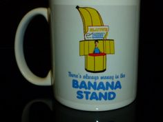George: There was two hundred and fifty thousand dollars lining the walls of the banana stand.  Michael: What?  George: Cash, Michael.  Michael: Why didn't you tell me that?  George: How much clearer can I say, there's always MONEY IN THE BANANA STAND!  Guard: No touching!  George: No touching!
