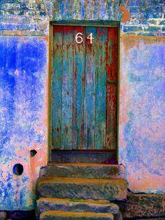 Rainbow doorway