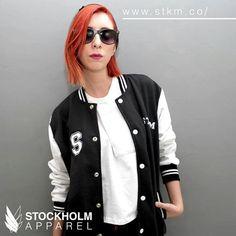 STOCKHOLM CO. varsity jacket 10% de descuento con el código STKGRAM (incluye una playera)  www.stkm.co #stockholmco #stkmcompany #streetwear #modaurbana #apparel #madeinmexico #tee #brand #instafashion #fashionblogger