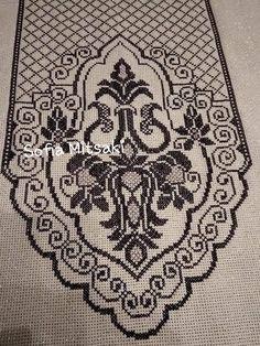 Cross Stitch Embroidery, Cross Stitch Patterns, Swedish Weaving, Filet Crochet, Doilies, Alphabet, Bohemian Rug, Rugs, Cards