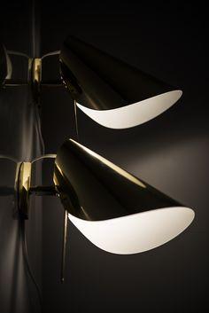 Mid century Sconces in Brass | Studio Schalling | MId Century