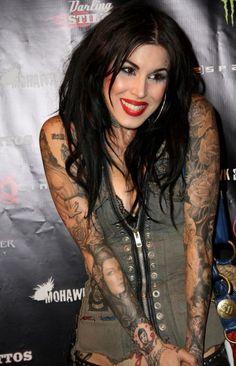 Tattooed women. When it's done right, it's good :)