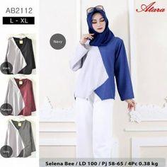 Blouse Selena Bee AB2112 - Grosir Baju Muslim Termurah 07758e70ba