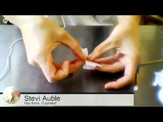 Wafer Paper Flowers with Stevi Auble - YouTube