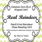 This HUGE informational text unit is based on reindeer!  It is closely aligned to the Common Core State Standards for Informational Text.  It is pa...
