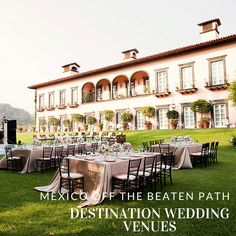 Mexico Off the Beaten Path Destination Wedding Venues | Hacienda De San Antonio | Venuelust