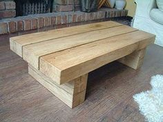 A wide range of solid oak coffee tables, lamp and side tables, all hand made in our own workshop. Several styles and sizes and four standard colour options. Diy Outdoor Furniture, Handmade Furniture, New Furniture, Furniture Plans, Rustic Furniture, Solid Oak Coffee Table, Rustic Coffee Tables, Coffee Table Design, Wooden Sofa