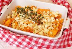 Fetás édesburgonya Vegetarian Recipes, Cooking Recipes, Healthy Recipes, Healthy Food, Feta, Light Recipes, Fried Rice, Sweet Potato, Vegetarian Food