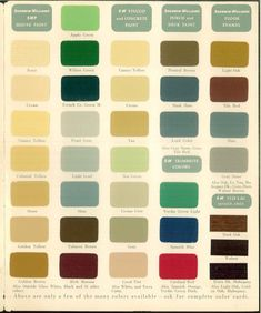 1939 The home decorator and color guide. Vintage Paint Colors, Rockwell Kent, 1940s Home, The Borrowers, Eyeshadow, Archive, Internet, Costume Design, Literature