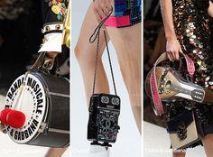 Spring/ Summer 2017 Handbag Trends: Extravagant, Unique Bags/ Purses