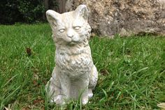 Often the additional of a new pet to our households follows the loss of a dear pet. If you'd like to memorialize your lost pet, you'll find beautiful outdoor statues like this cat at your local #TuesdayMorning store. This concrete cat, priced at just $14.99 at Tuesday Morning, compares at $30 at other stores.