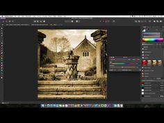 Affinity Photo Tutorial: Create a Sepia Effect and More. Affinity Photo Tutorial, Apps For Mac, Photography Software, Creative Art, Photo Editing, Ipad, Learning, Create, Youtube