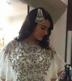 Mandana Karimi wearing KALKI Fashion & Shillpa Purii Jewellery for an event…