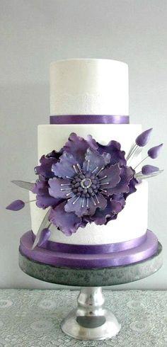 Big Flower Cake
