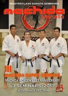 MACHIDA Karate III SUPER SEMINAR - 3 Seminars in one day. (6 DVD Set)