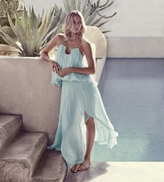 #witcherystyle The new blue | Summer hues
