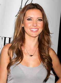audrina patridge hair | Audrina Patridge's Long, Tousled, Wavy, Party Hairstyle is a gorgeous ...