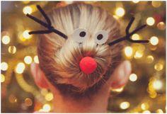 Voorbeelden van een leuk kerstkapsel kind | Moodkids