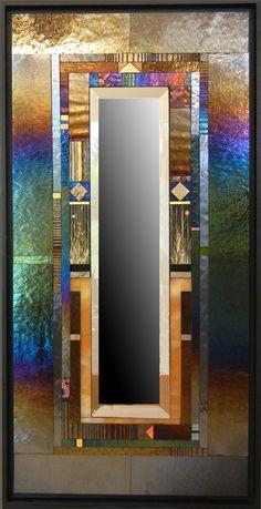 Thomas Meyers Studio - Amber Parclose Mirror
