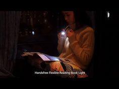 LED Handsfree Hug Neck Portable Flexible Reading Book Light