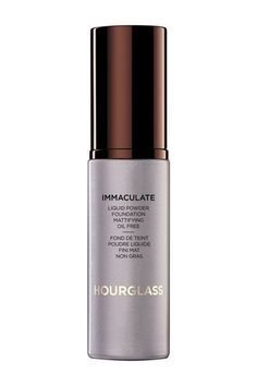 Ace Of Base: 15 Winning Foundations #refinery29  http://www.refinery29.com/best-foundation#slide-6  Our beauty director loves how this foundation works with — not against — her oily skin. Hourglass' formula strikes a balance between matte and dewy, which is no easy feat.Hourglass Immaculate Liquid Powder Foundation, $55, available at Sephora...