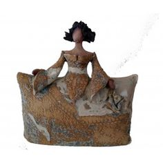 Menina de ceramica