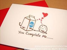 You complete me, cheesy quote yet many people still use it