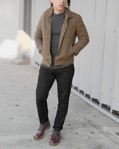 Live Action Getup: Rugged Fall Casual