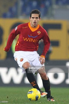 size 40 a4a47 15f9b Fernando Gago of AS Roma in action during the Serie A match between AS Roma  and